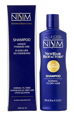 Shampoo for normal til tørr hodebunn og tørt hår - 240ml.